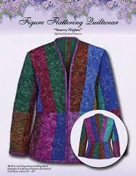 Crazy Quilt Jacket | patchweare | Pinterest | Quilted jacket ... & Starry Nights Quilted Jacket Pattern Adamdwight.com