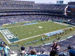 Sdccu Stadium Section V30 Home Of San Diego Chargers San
