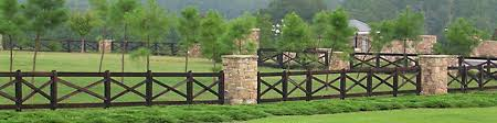 Farm fence Silhouette Crossbar Farm Fence Afl Fences Lincoln Farm And Ranch Style Fence Tennessee Valley Fence Youll Love Us