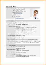 job resume format pdf ledger paper comeuropean cv format pdf job