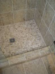 mosaic shower floor tile elegant shower tile installation with glass mosaics
