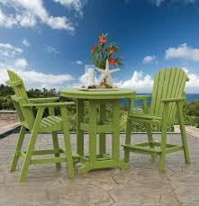 amish outdoor pub tables