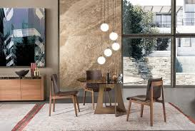 samurai swords and japanese culture recall in this luxurious round dining table design by umberto