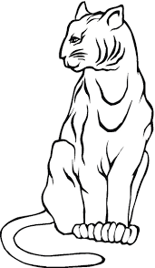 Mountain Lion Coloring Pages - GetColoringPages.com