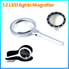 table top magnifying glass full page hands free lighted desk magnifier