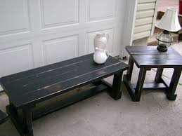 coffee tables ideas wood black distressed coffee table