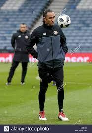 Costa Rica goalkeeper Keylor Navas during a training session at Hampden  Park, Glasgow Stock Photo - Alamy