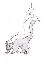 Small Picture skunk coloring pages pixelpictartcom