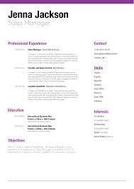 Resume Template Structured Resume Mycvfactory