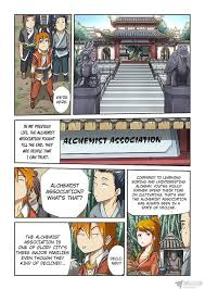 tales of demons and gods chapter alchemist association   tales of demons and gods chapter 71 alchemist association page 3 com