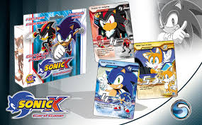 So the sonic card game is due for release in a few weeks time and i was given an early copy of it by the uk sega shop. Carl Braun Sonic X Card Game Development Design