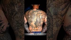 значение тату тигр и дракон смысл история и фото готовых тату