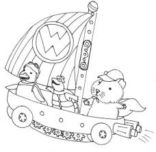 Small Picture Linny Turtle Tuck And Ming Ming Sailing On Little Boat In Wonder