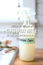 vinegar cleaning spray