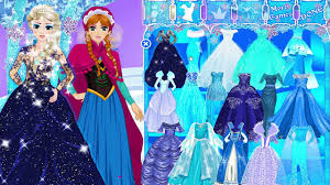 disney frozen cartoon dress up game frozen a and elsa makeover dress up game for s video dailymotion