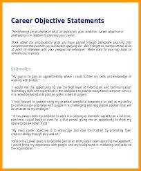 Sample Resume Objective Statements For Customer Service Resume Sample Objective Statement Skinalluremedspa Com