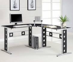 glass top office desk modern. Glass Top Office Desk Modern N