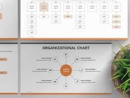Modern Org Chart Organizational Chart Presentation Template Free Download