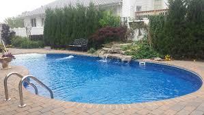 inground pool waterfalls. Inground Pool With Waterfall Waterfalls