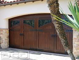 dynamic garage doorsFrench Mediterranean Garage Doors Manufactured in Orange County