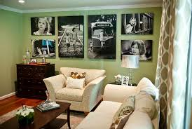 Focal Point Wall In New Living Room By
