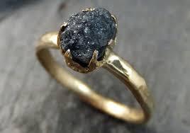 alternative to wedding ring. raw-diamond-alternative-engagement-rings alternative to wedding ring o