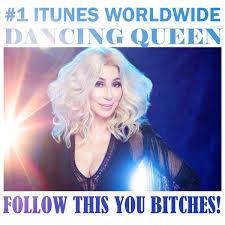 Cher Dancing Queen Charts