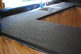 Kitchen Top Kitchen Countertop Reveal Using The Rust Oluem Countertop