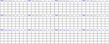Twelve Month Calendar Whiteboard Dry Erase Innovations