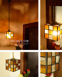 lovely stained glass pendant lights led light bulbs for orange stained glass shade 1 light antique nostalgic handmade dining entrance hallway stairs toilet