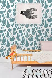 Dit Mooie Behangpapier Van Ellen Van Der Velden Geeft De Kinderkamer