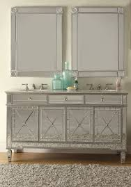 ... the mirrors complete these handcrafted pieces with subtle yet striking  detail that will make a marvelous addition in any home. Mirrored Bathroom  Cabinet ...