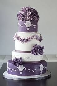 beautiful white and purple wedding cakes. Beautiful White And Purple Cake Inside Wedding Cakes