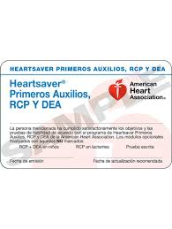 aha spanish heartsaver fa cpr aed course cards 24 pack worldpoint