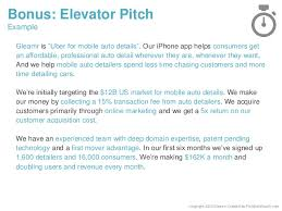 pitch document template pitch deck template for startups