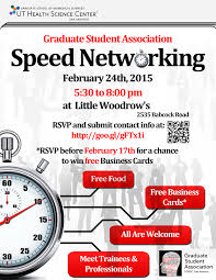 Rsvp For Speed Networking Event Graduate Student Association