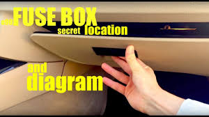 where is the fuse box location in a bmw e90 and full diagram if you  at 2009 Bmw 335i Coupe Interior Fuse Box Location