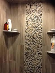 amazing pebble tile bathrooms bathroom tile