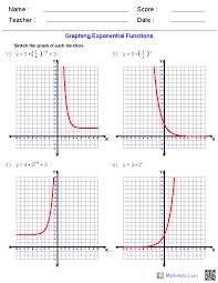Algebra 1 Worksheets | Exponents Worksheets