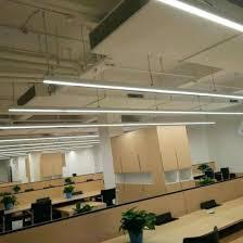 office pendant light. Linear Pendant Lighting Modern Led Light Office Suspended Lights Kitchen Island C