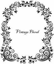 frame design vector. Plain Design Vintage Floral Frame Vector And Design E
