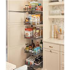 rev a shelf fog series swing out flat wire pantry with 5 shelves orion gray for 18 cabinet 14 1 4 w x 18 1 2 d x
