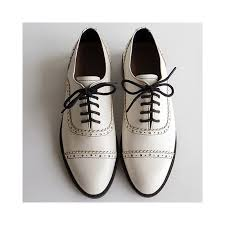 women genuine leather oxford shoes round toe black white lady lace up brogues loafers casual shoes for women leather shoes color white shoe size 5 5