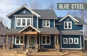 blue exterior paintPicking An Exterior Paint Color  Young House Love