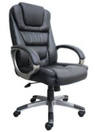 best office chair for long sitting. Boss Black Leather Plus Executive Reclining Office Chair Best For Long Sitting I
