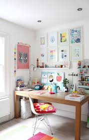 colorful home office. Bright And Colourful Home Office Colorful
