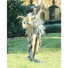 resin lawn statues for landscape garden statuary outside outdoor bronze or yard statue