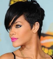 Coupe Courte Rase Sur Le Cote Rihanna Cheveux Naturels 2019