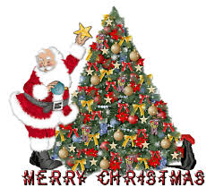 animated merry christmas pictures. Brilliant Christmas Merry Christmas Santa Tree Animated With Pictures E