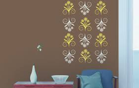 Stencil Art Designs For Walls Designer Range Of Wall Painting Stencils For Your Home